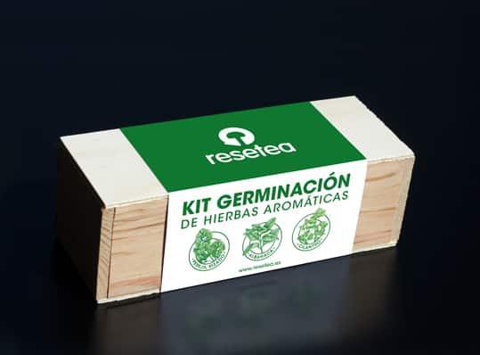 Kit Germinación de hierbas aromáticas