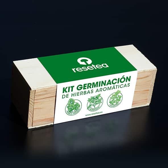 Kit germinacion Aromaticas