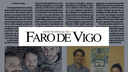 Resetea en El Faro de Vigo