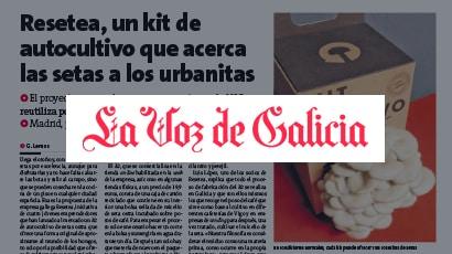 Resetea en La Voz de Galicia