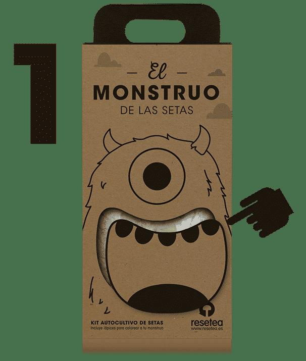 Instrucciones del Monstruo de las setas 1