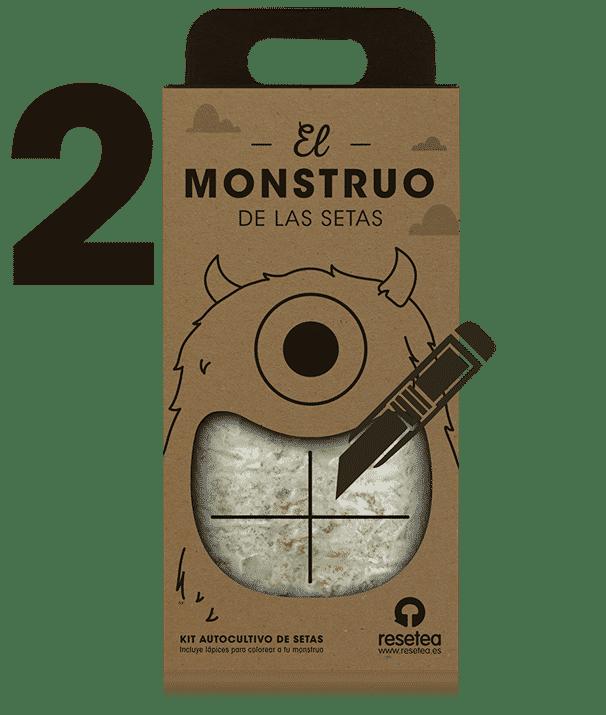 Instrucciones del Monstruo de las setas 2