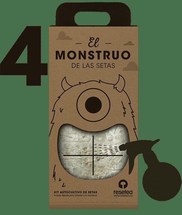 Instrucciones del Monstruo de las setas 4