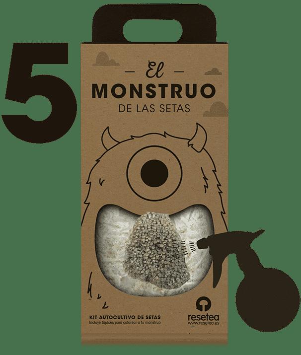 Instrucciones del Monstruo de las setas 5