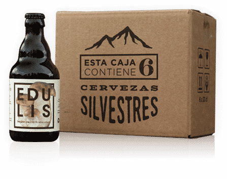 cervezas artesanales para beber cdurante un asado comiendo setas
