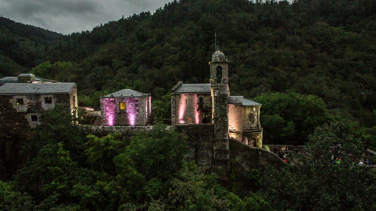 Monasterio en Fragas do Eume en Galicia