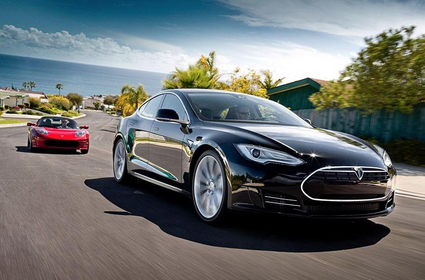 Tesla Motors y sus coches eléctricos.