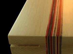 diseño de madera para lampara