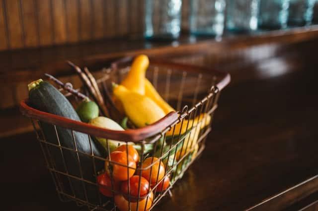 cesta de compra de procutos ecologicos
