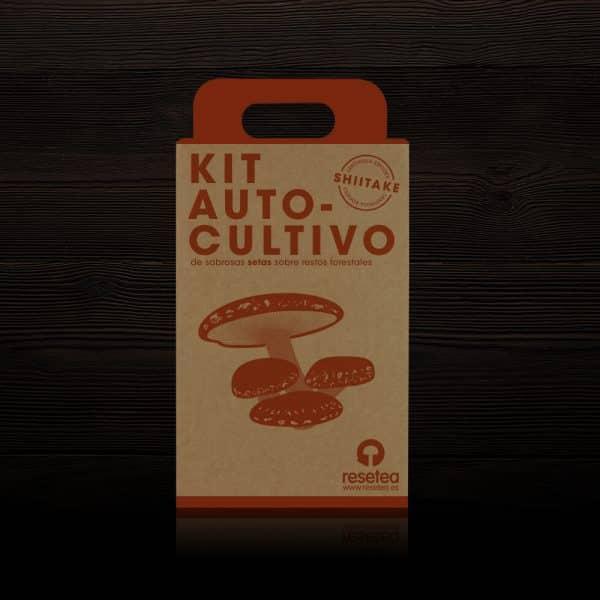 Kit Autocultivo de Shiitake