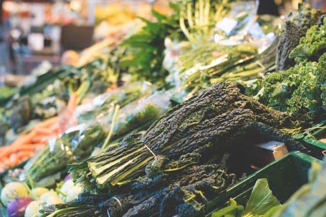 Verduras cultivadas en huerta