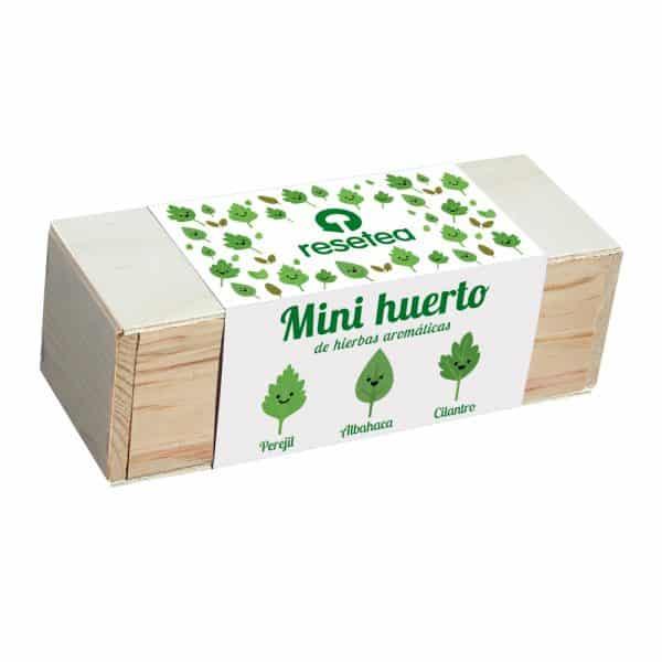 Mini huerto de hierbas aromaticas 1