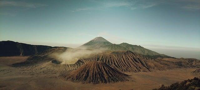 Energía geotérmica de un volcán