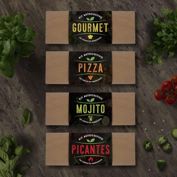 Kits Culinarios 4 variedades