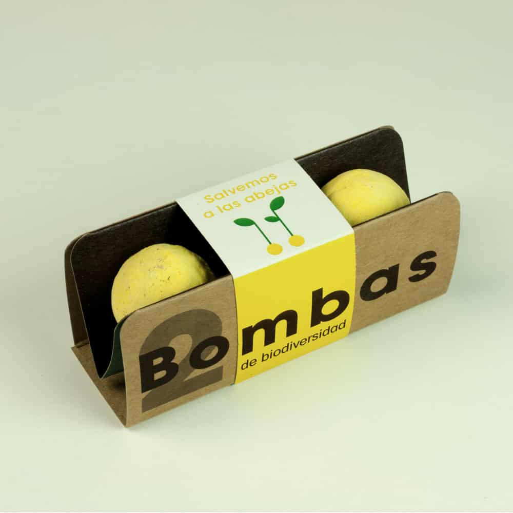 Bombas de biodiversidad (Salvemos a las Abejas)