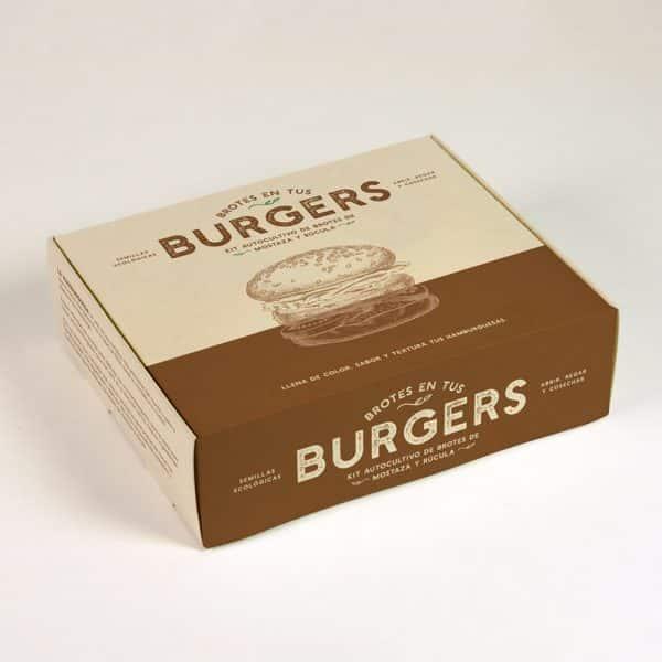 Resetea – Kit Autocultivo de brotes – Burger 2