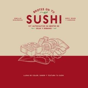 brotes en tu sushi