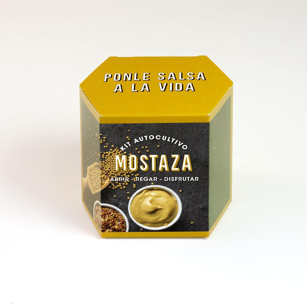 Kit Autocultivo Mostaza
