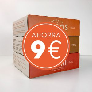 Pack 3 kit autocultivo de brotes Resetea